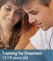 Training for Dreamers 15/19 years old
