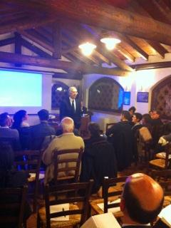 Conferenza Prof. Stefano D'Anna c/o La Camilla – Concorezzo (MB) (11 Ottobre 2013)