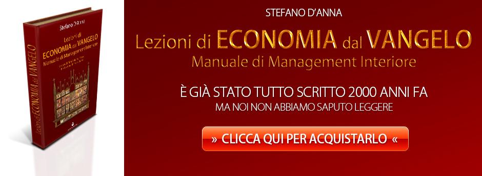 Lezioni di Economia dal Vangelo di Stefano D'Anna